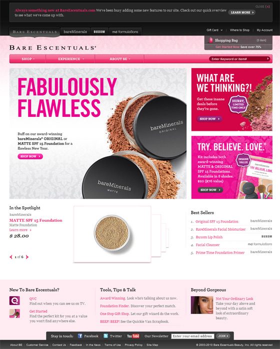 bare escentuals makeup kit. Bare Escentuals Mineral Makeup