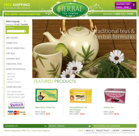 Herbal Tea Center