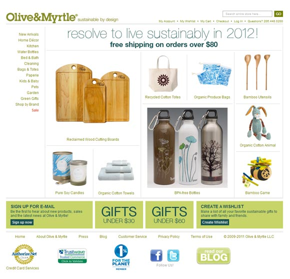 Olive & Myrtle