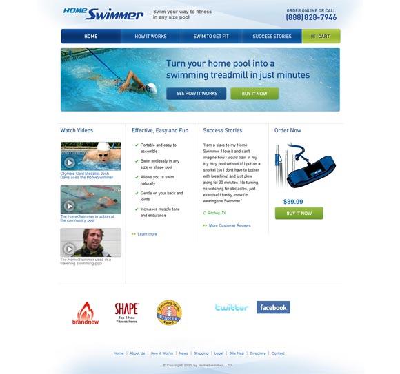 Home Swimmer